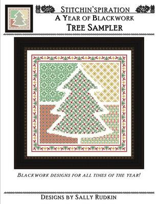 click here to view larger image of Tree Sampler (Blackwork) (chart)