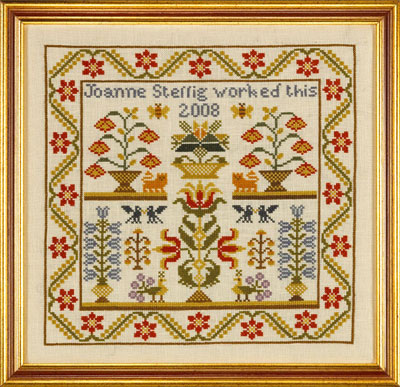 click here to view larger image of Flora and Fauna Sampler - CHART (counted cross stitch kit)
