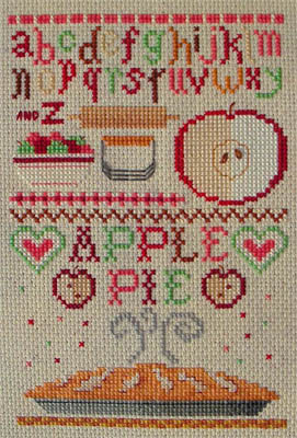click here to view larger image of Apple Pie Sampler (chart)