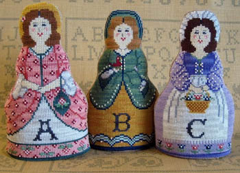 click here to view larger image of Alphabet Dolls (chart)