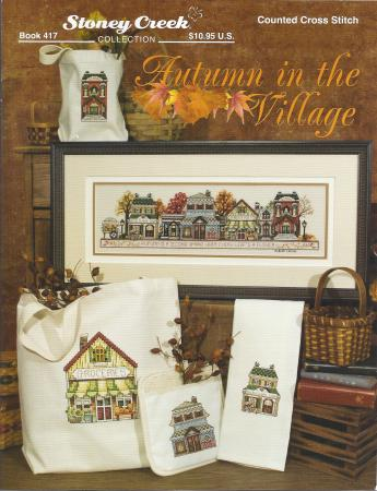 click here to view larger image of Autumn in the Village (chart)