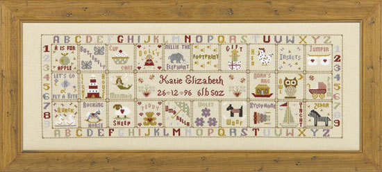 click here to view larger image of Just For A Girl (KIT) (counted cross stitch kit)