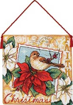 click here to view larger image of Faith Ornament (counted cross stitch kit)