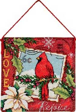 click here to view larger image of Love Ornament (counted cross stitch kit)
