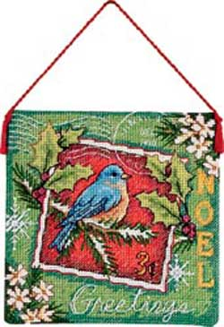 click here to view larger image of Noel Ornament (counted cross stitch kit)