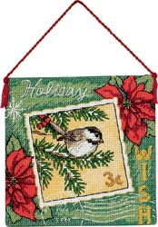 click here to view larger image of Wish Ornament (counted cross stitch kit)