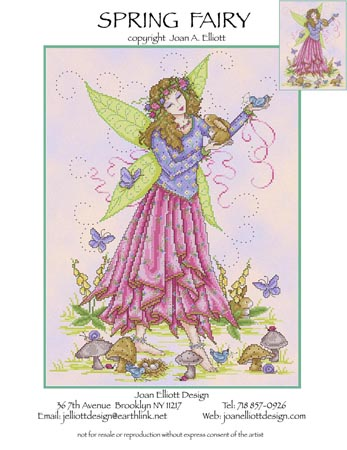 click here to view larger image of Spring Fairy (chart)