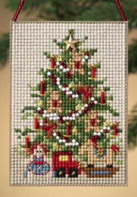 click here to view larger image of Old Fashioned Tree  (2010) (counted cross stitch kit)