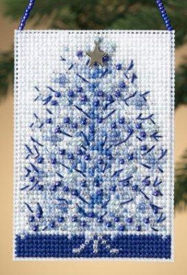 click here to view larger image of Silvery Tree  (2010) (counted cross stitch kit)