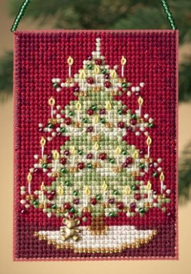 click here to view larger image of Victorian Tree  (2010) (counted cross stitch kit)