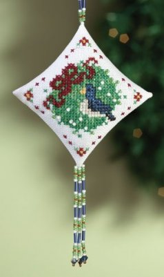 click here to view larger image of Blue Bird (2010) (counted cross stitch kit)