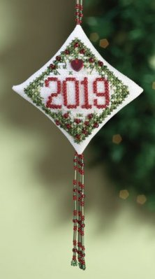 click here to view larger image of Holiday Memory  (2010) (counted cross stitch kit)