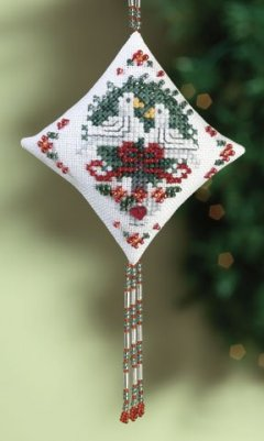 click here to view larger image of Doves (2010) (counted cross stitch kit)