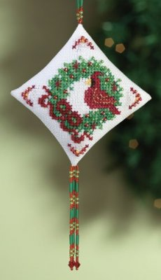 click here to view larger image of Cardinal  (2010) (counted cross stitch kit)