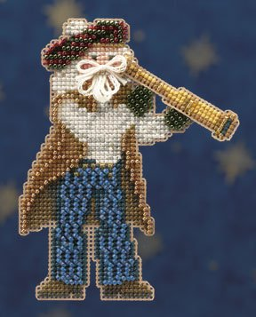 click here to view larger image of First Mate Santa  (2010) (counted cross stitch kit)