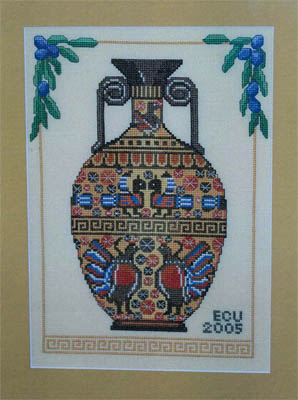click here to view larger image of Greek Vase (chart)
