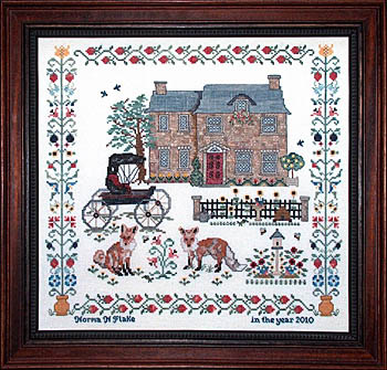 click here to view larger image of Little Foxes Country Retreat Sampler (chart)