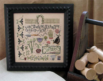 click here to view larger image of Magic Garden Sampler (chart)