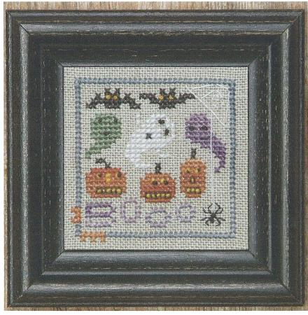 click here to view larger image of Are You A Little Scared (counted cross stitch kit)