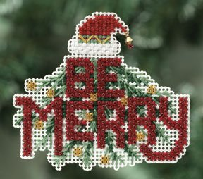 click here to view larger image of Be Merry  (2010) (counted cross stitch kit)