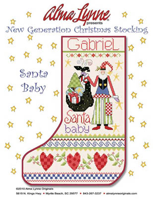 click here to view larger image of Santa Baby Stocking (Gabriel) (chart)