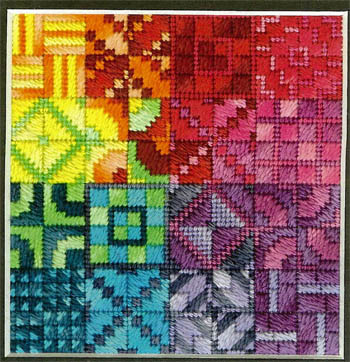 click here to view larger image of Color Delights - Rainbow (counted canvas chart)