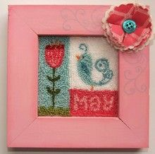 click here to view larger image of May Blocks (punchneedle kit) (Punchneedle Kit)