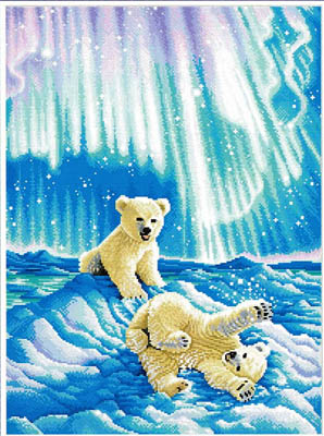 click here to view larger image of Borealis Polar Bear Cubs (chart)