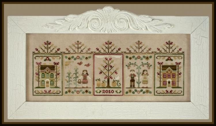 click here to view larger image of Fall Festival (counted cross stitch kit)