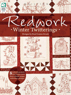 click here to view larger image of Redwork Winter Twitterings (chart)