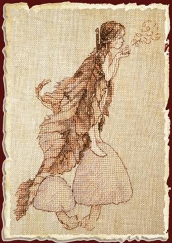 click here to view larger image of Les Coprins des Fees (KIT) (counted cross stitch kit)