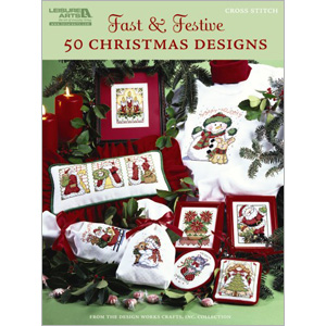 click here to view larger image of Fast and Festive (50 Christmas Designs) (chart)