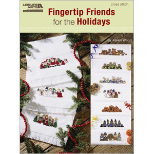click here to view larger image of Fingertip Friends for the Holidays (chart)