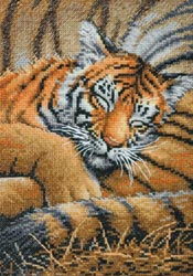 click here to view larger image of Cozy Cub (counted cross stitch kit)