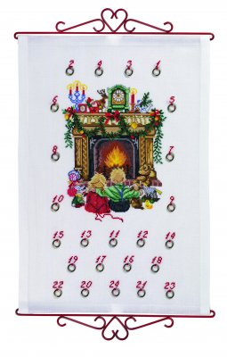 click here to view larger image of Calendar Children (counted cross stitch kit)