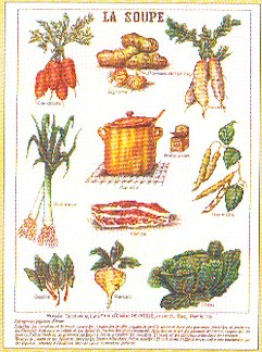 click here to view larger image of Soup Vegetables (counted cross stitch kit)