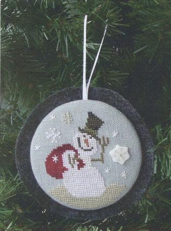 click here to view larger image of Gift For You - Holiday Hang-ups (counted cross stitch kit)