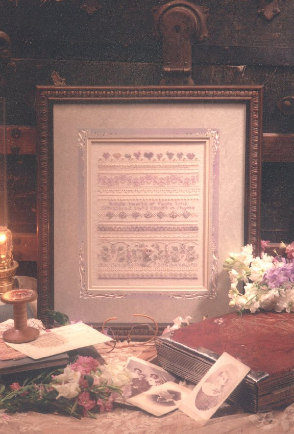 click here to view larger image of Water Woods Sampler (counted cross stitch kit)