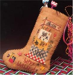 click here to view larger image of Birthday Stocking (chart)