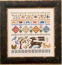 click here to view larger image of Band Sampler (chart)