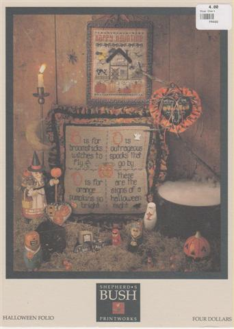 click here to view larger image of Halloween Folio (chart)