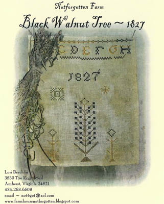 click here to view larger image of Black Walnut Tree Sampler (chart)