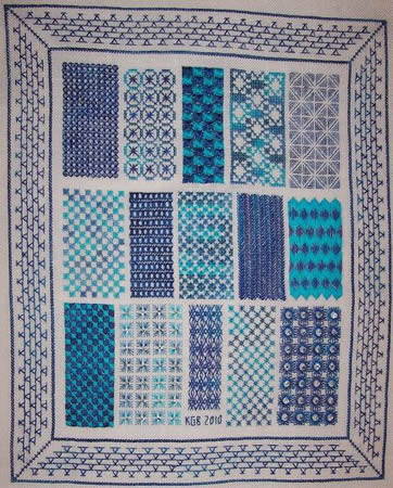 click here to view larger image of Sampling of Stitches (chart)