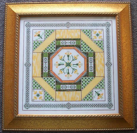 click here to view larger image of Daffodil Garden Tapestry (chart)