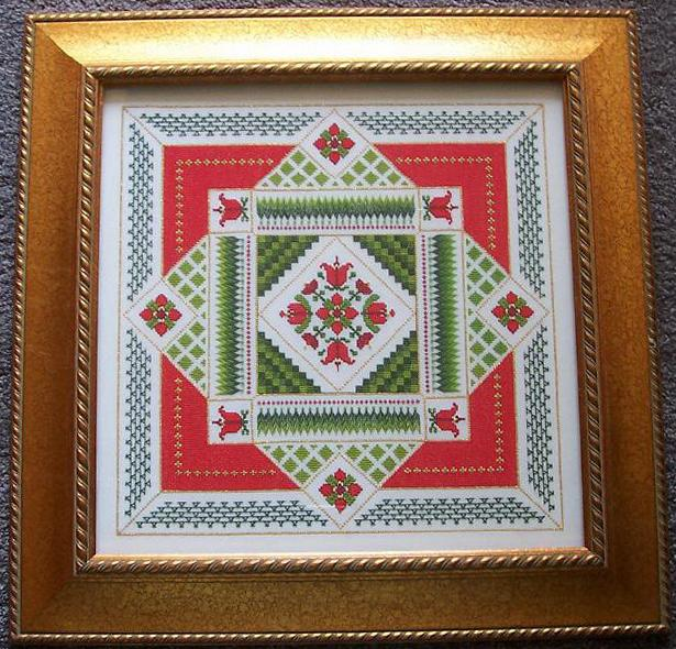 click here to view larger image of Tulip Garden Tapestry (chart)