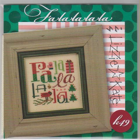 click here to view larger image of Falalalala Kit (counted cross stitch kit)
