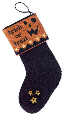 click here to view larger image of Trick or Treat- Mini Stocking (chart)