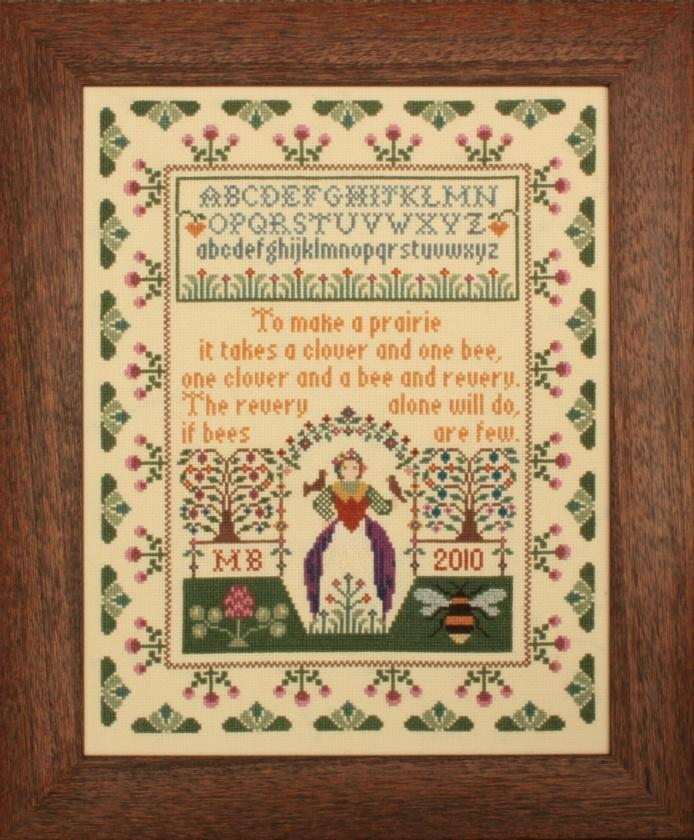 click here to view larger image of Clover and Bee Sampler (chart)