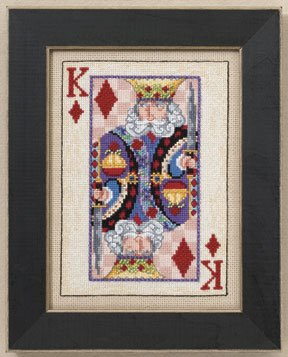 click here to view larger image of King (counted cross stitch kit)