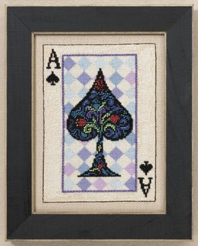click here to view larger image of Ace (counted cross stitch kit)